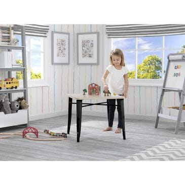 Delta Bistro Kids Table in Black and Driftwood, , large