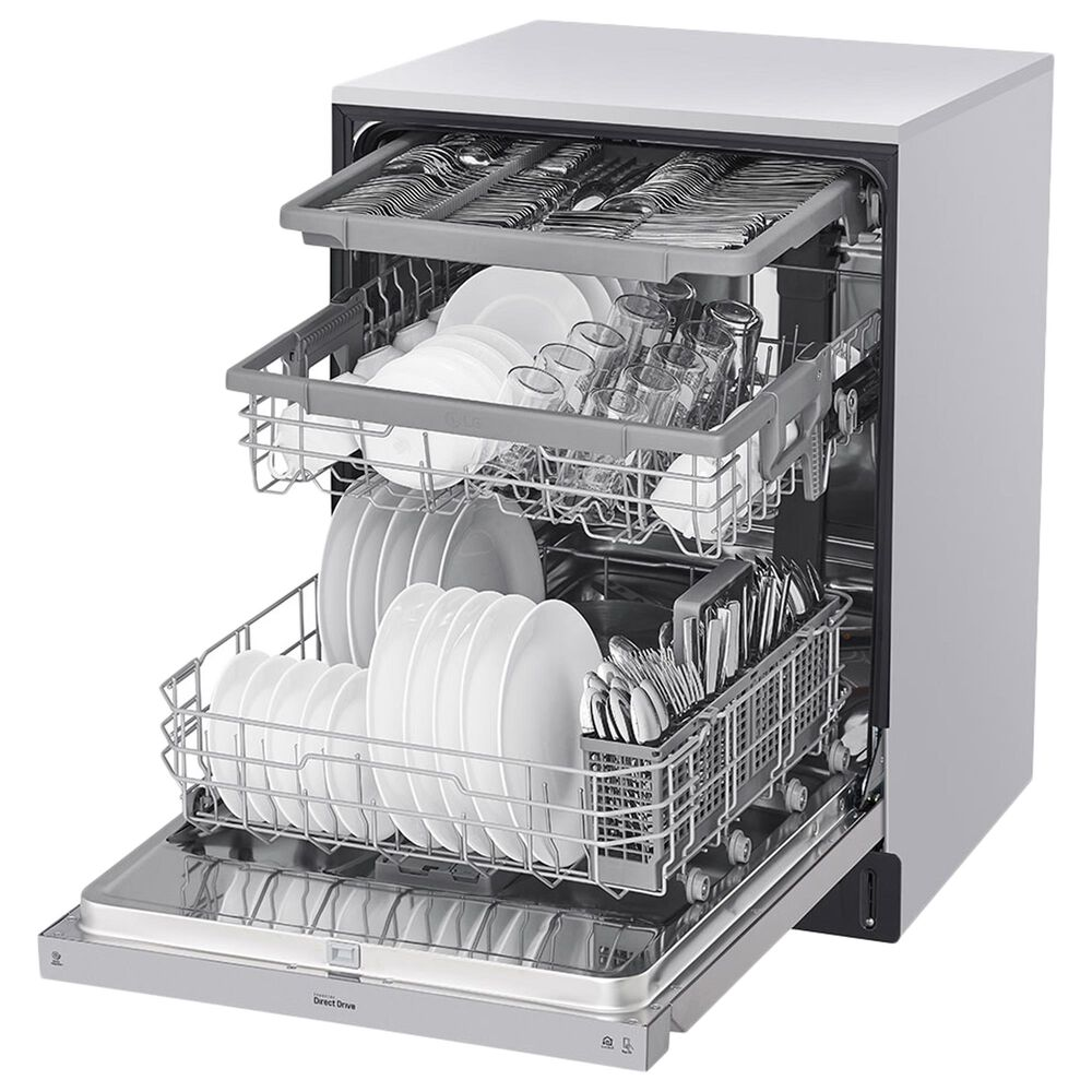 "LG 24"" Built-In Dishwasher with 3rd Rack in PrintProof Stainless Steel, , large"