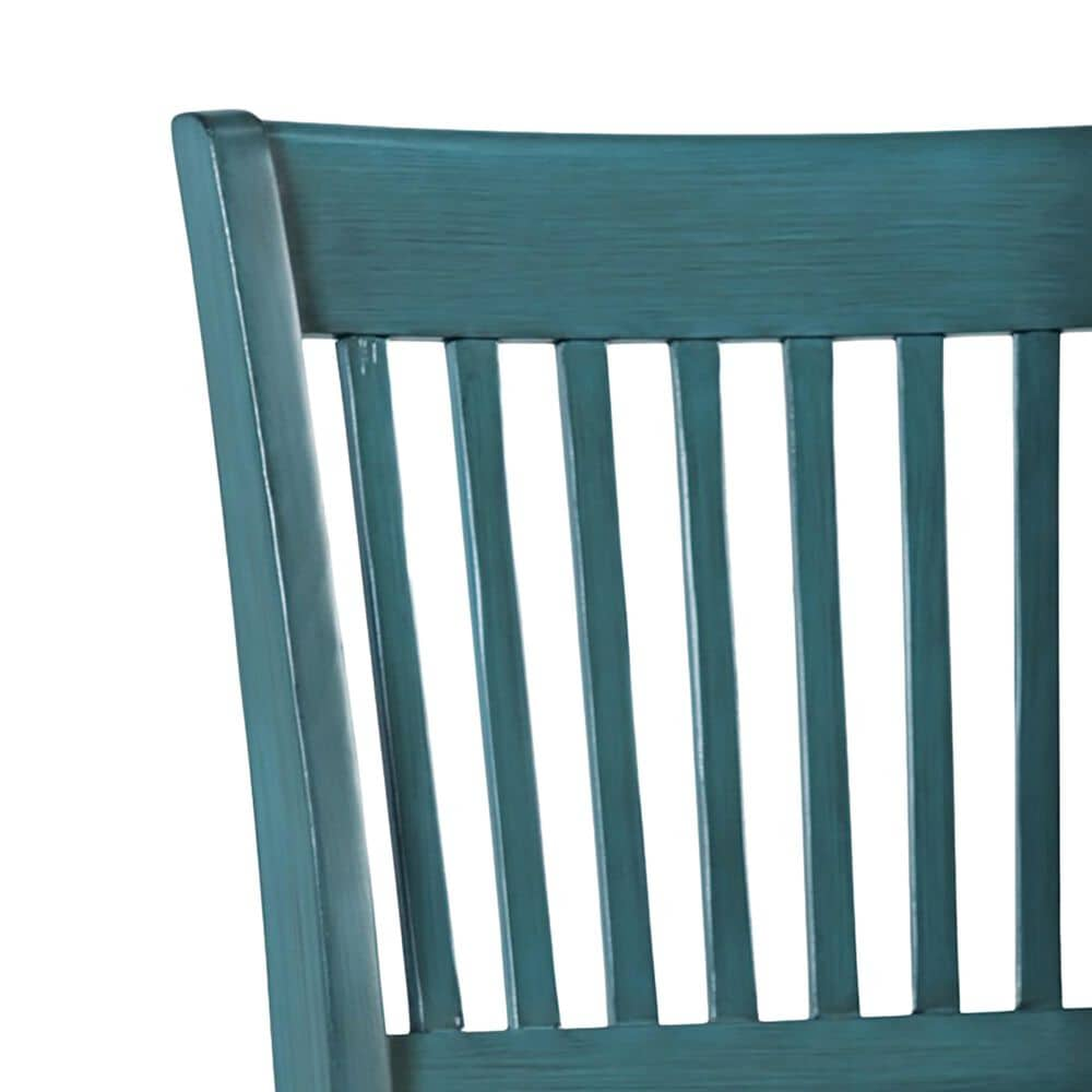 Waltham Craftsman Desk Chair in Antique Blue, , large