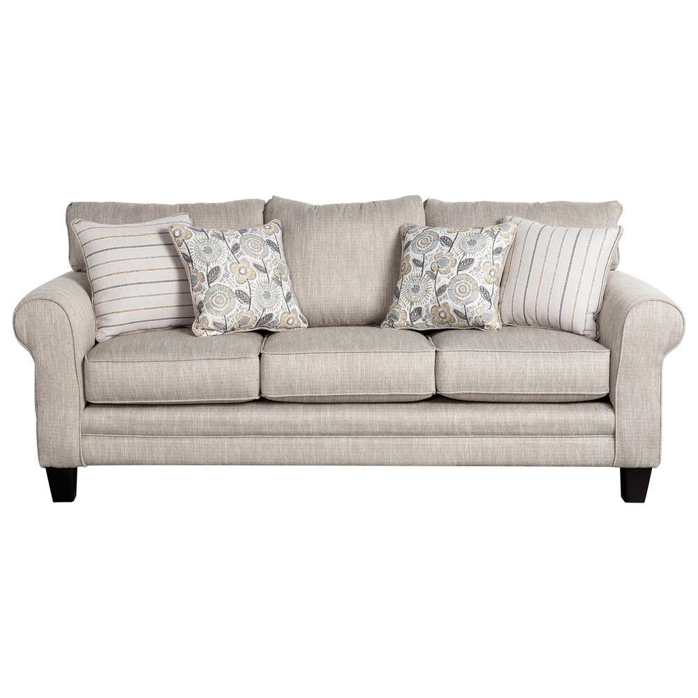 Xenia Contemporary Sofa in Vandy Heather, , large