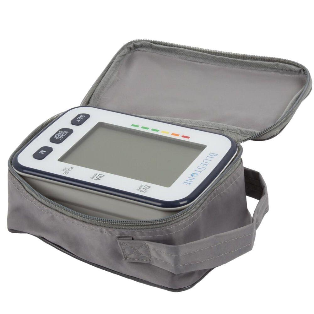 Timberlake Bluestone Automatic Upper Arm Blood Pressure Monitor in Grey, , large