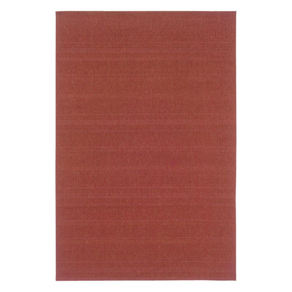 """Oriental Weavers Lanai 781C8 1""""8"""" x 3""""7"""" Red Scatter Rug, , large"""