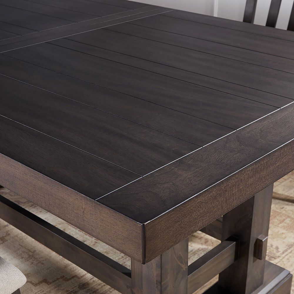 Steve Silver Napa Dining Table in Dusky Cedar, , large