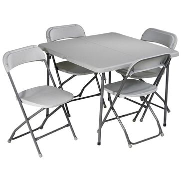 OSP Home 5-Piece Folding Set in Light Grey, , large