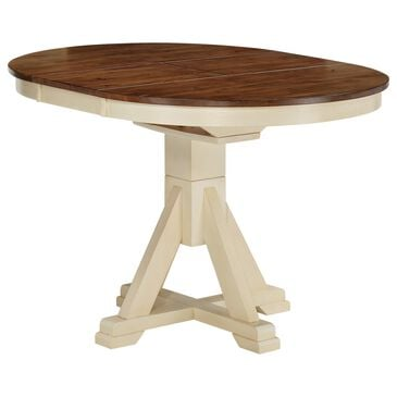 Chromcraft Cochrane Dining Table in Rustic Buttermilk, , large