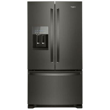 Whirlpool 25 Cu. Ft. French Door Refrigerator In Fingerprint Resistant Black Stainless Steel , , large