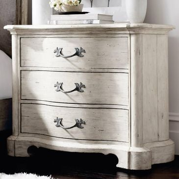 Bernhardt Mirabelle Bachelor 3 Drawer Nightstand in Cotton, , large