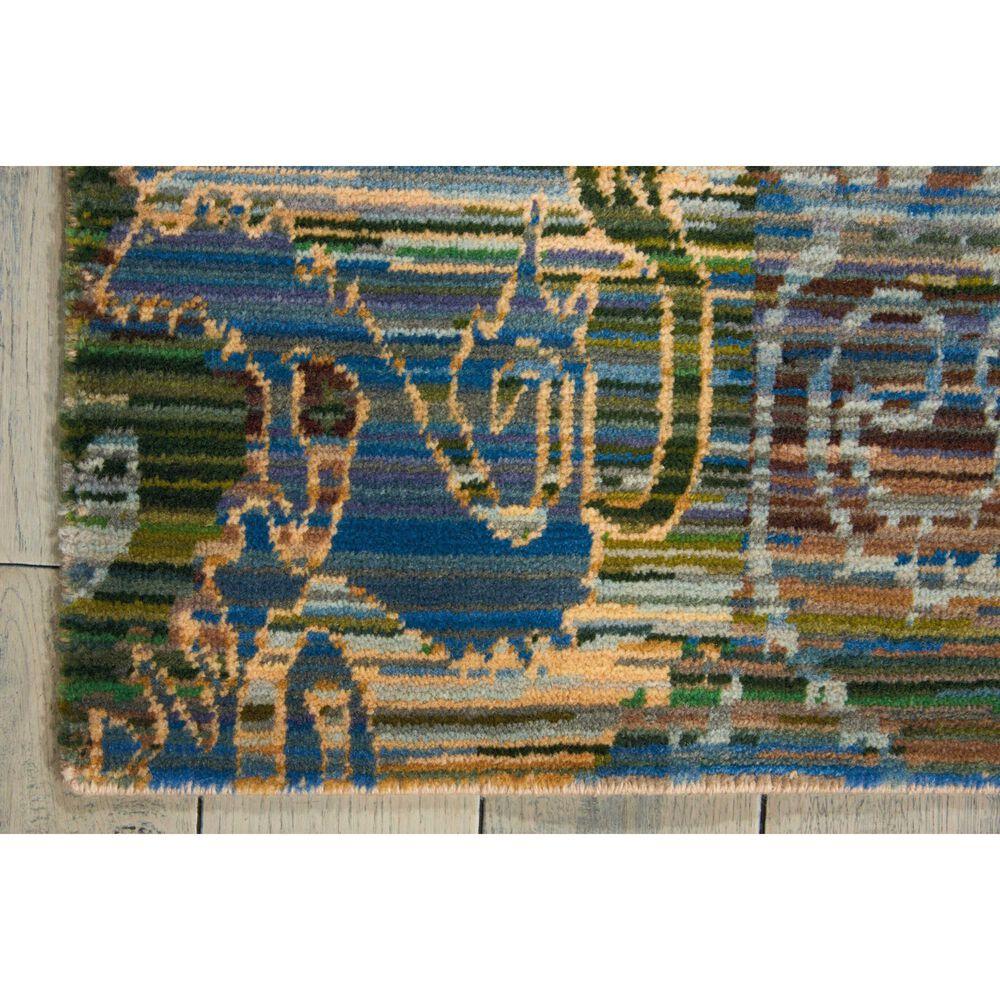 "Nourison Rhapsody RH010 9'9"" x 13' Seaglass Area Rug, , large"