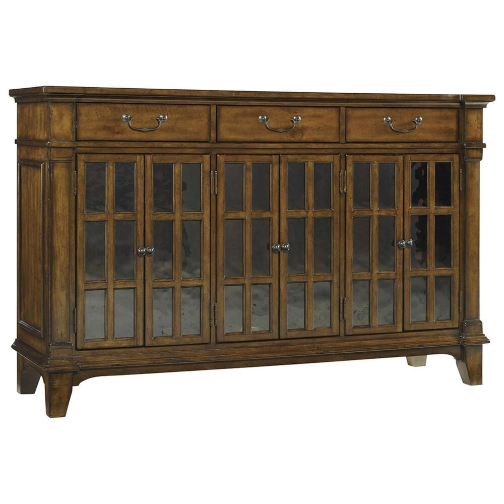 Hooker Furniture Tynecastle Buffet in Warm Chestnut, , large