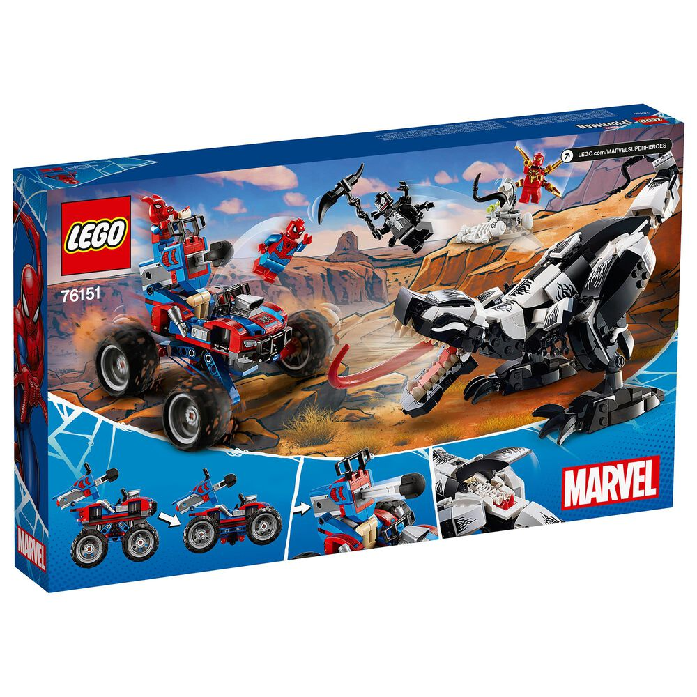 LEGO Spider Man Venomosaurus Ambush Playset, , large