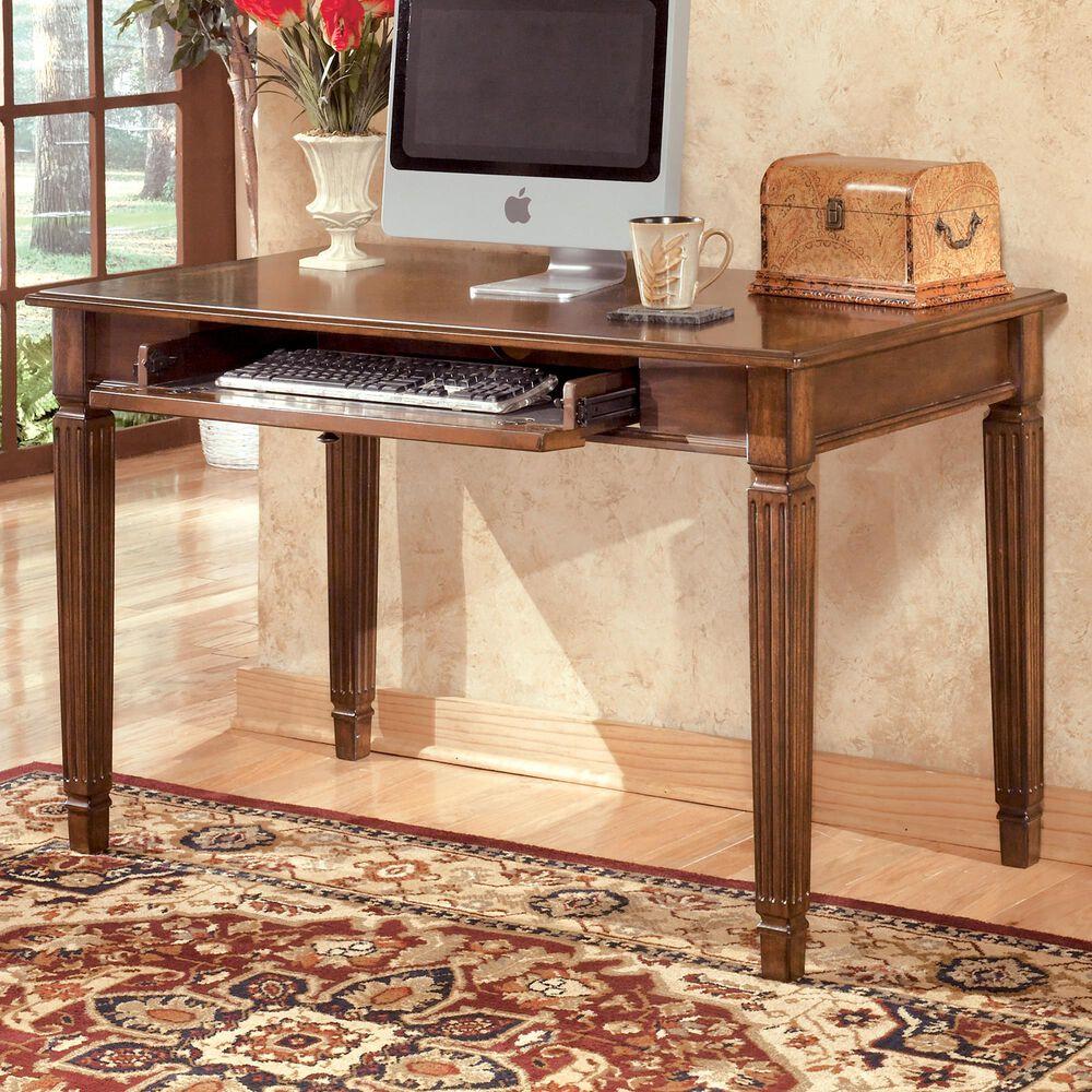 Signature Design by Ashley Hamlyn Small Leg Desk in Medium Brown, , large
