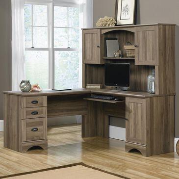 Sauder Corner Desk with Hutch, , large