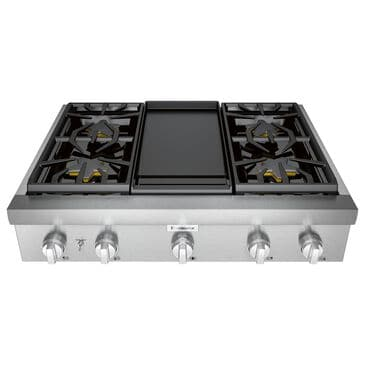 "Thermador 36"" Professional Rangetop - Stainless Steel  , , large"