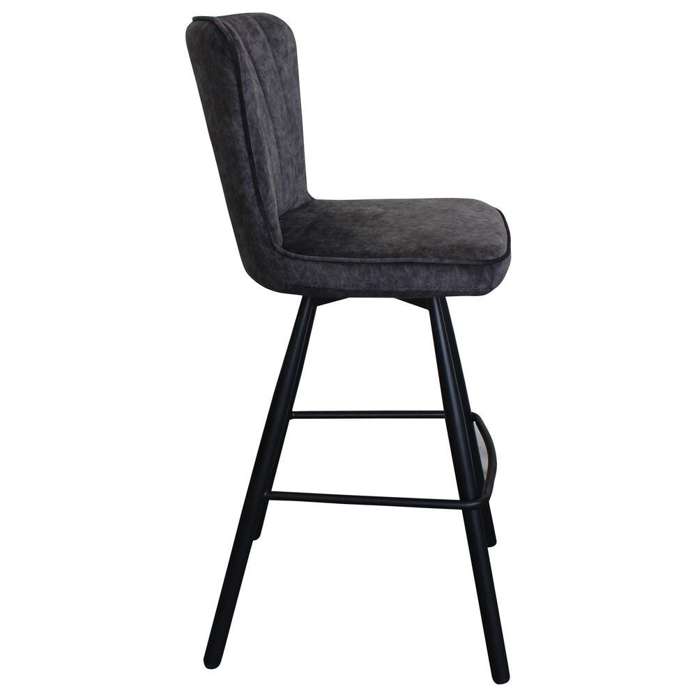 Moe's Home Collection Sonnet Barstool in Grey, , large