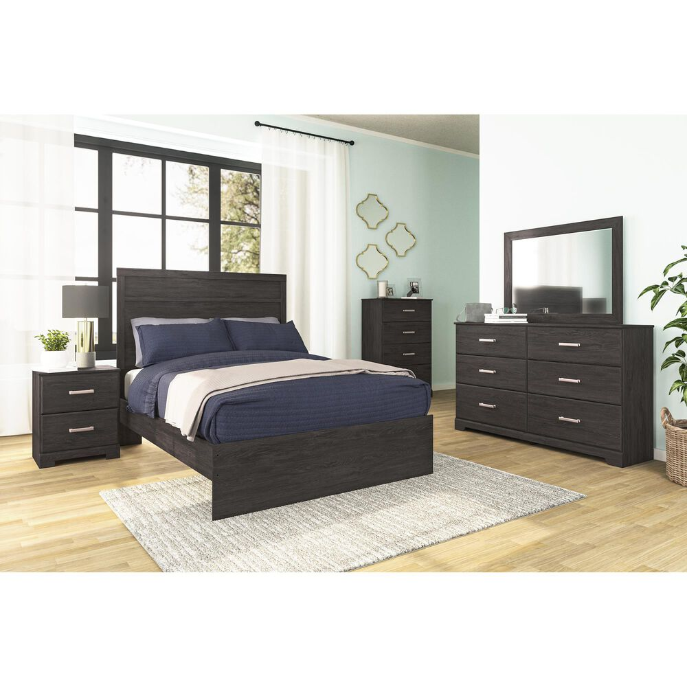 Signature Design by Ashley Belachime 4 Drawer Chest in Dark Charcoal, , large