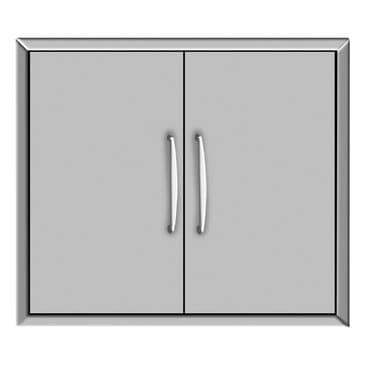 """Coyote Outdoor 31"""" Double Access Doors in Stainless Steel, , large"""