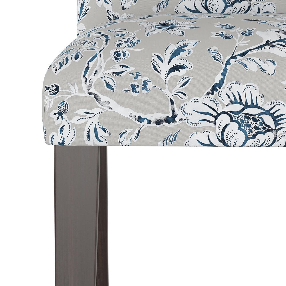 Skyline Furniture Dining Chair in Indian Blockprint Grey, , large