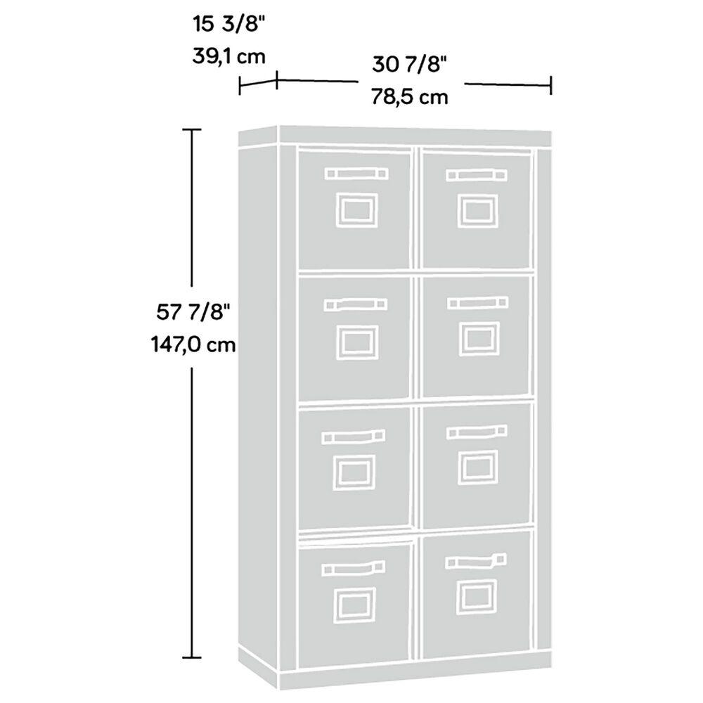 Sauder Stow-Away 8-Cube Organizer in Lintel Oak, , large
