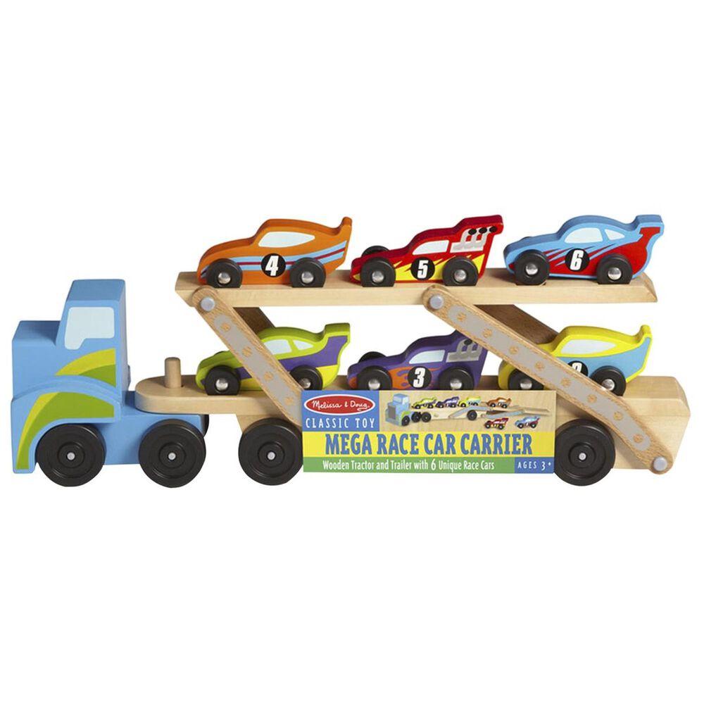Melissa & Doug Mega Race Car Carrier, , large