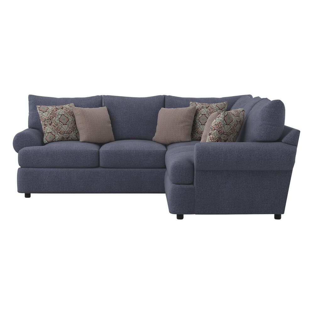 Klaussner Cora 2-Piece Sectional in Jesy Denim, , large