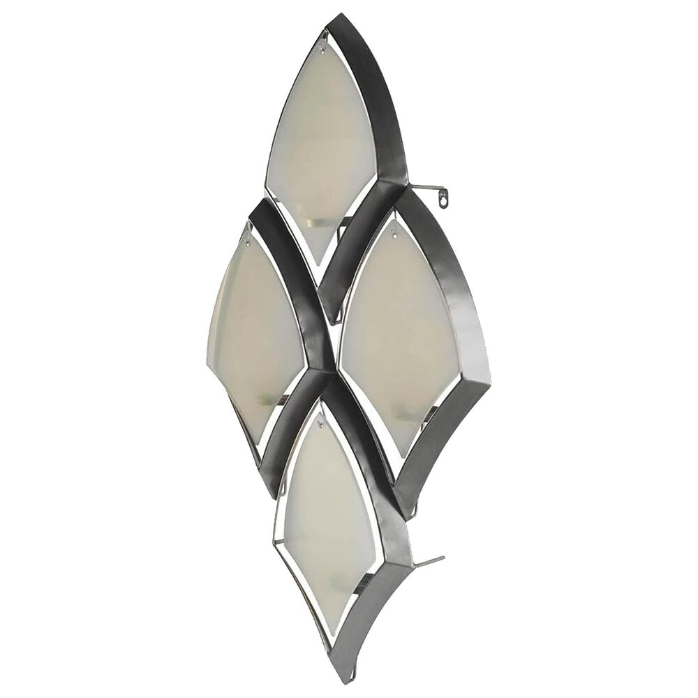 Mercana Tarmac II Candle Holder in Antiqued Silver, , large