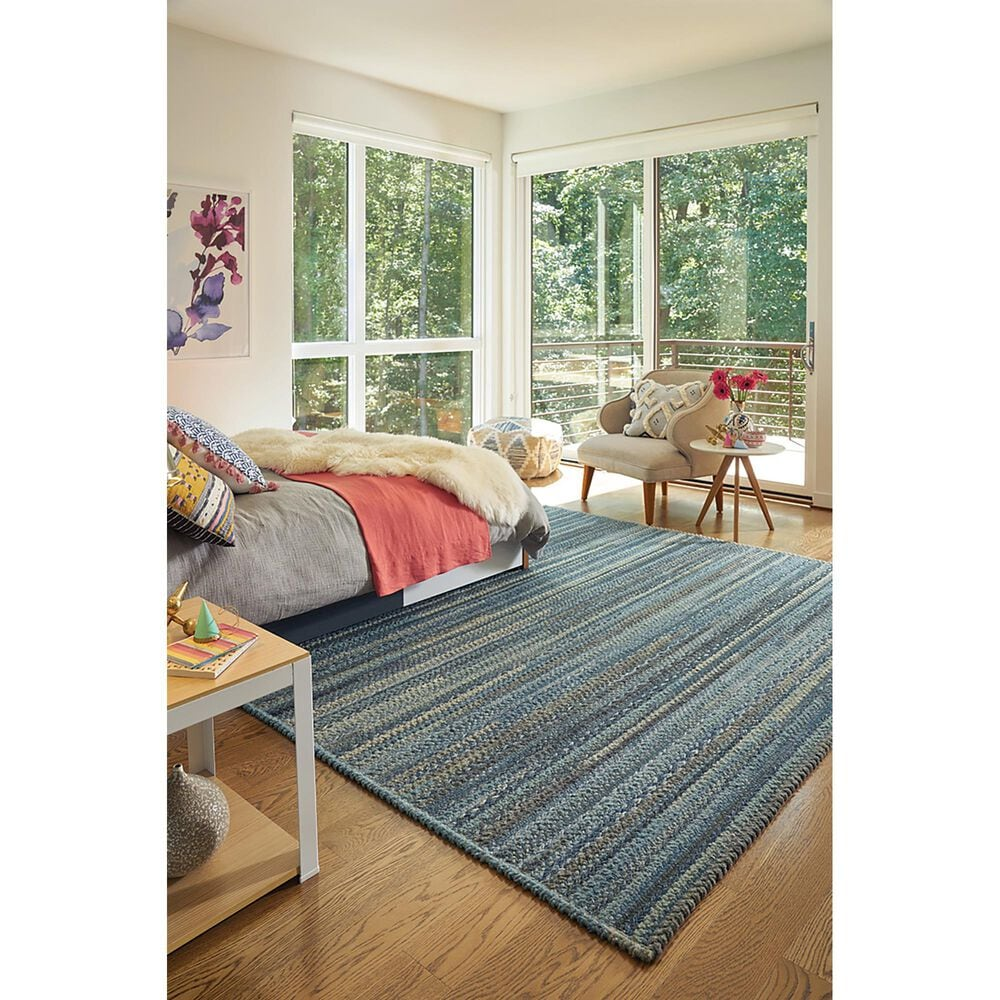Capel Bayview 0036-440 3' x 5' Slate Area Rug, , large