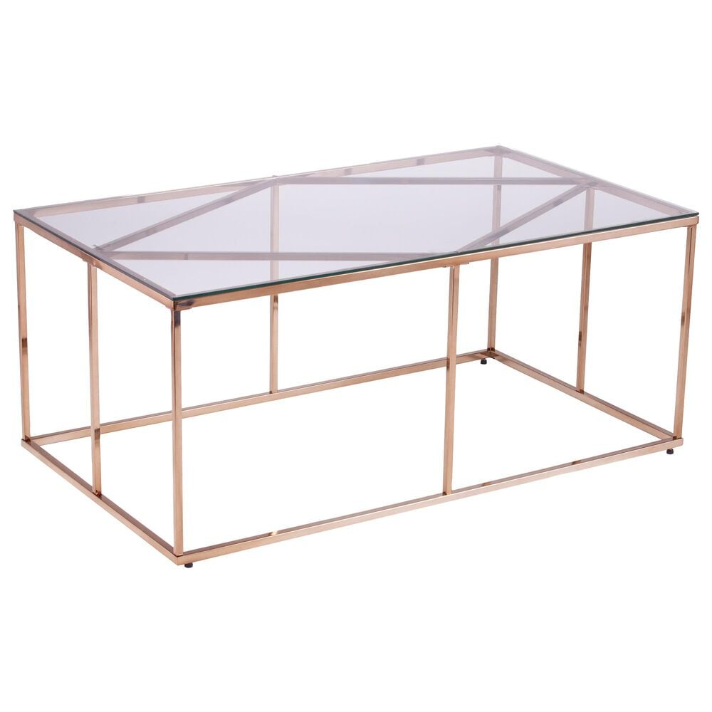 Southern Enterprises Nicholance Coffee Table in Champagne, , large