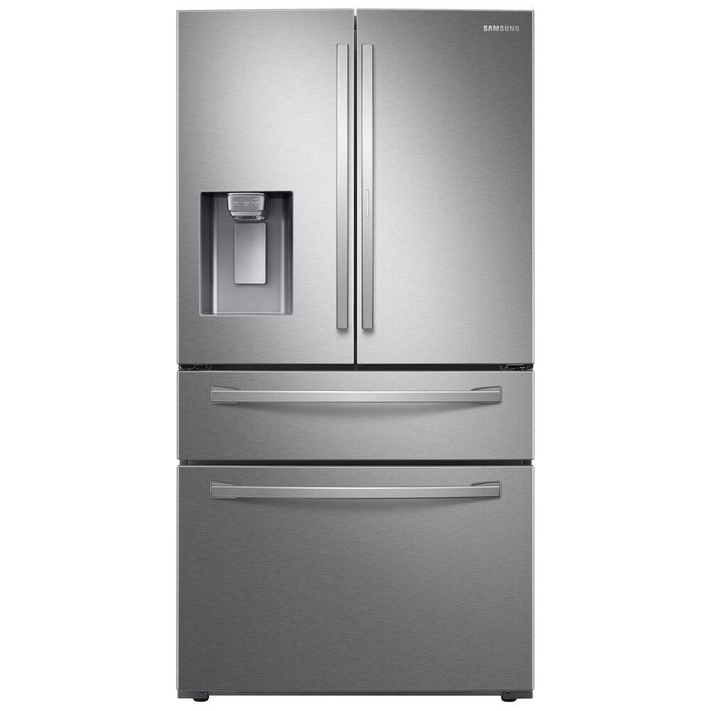 Samsung 28 Cu. Ft. 4-Door French Door Refrigerator in Fingerprint Resistant Stainless Steel , , large
