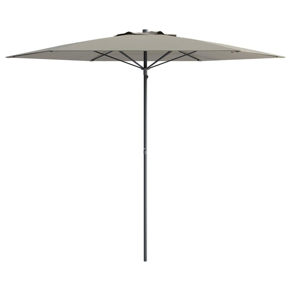CorLiving 7.5' UV & Wind Resistant Umbrella in Sand Grey, , large