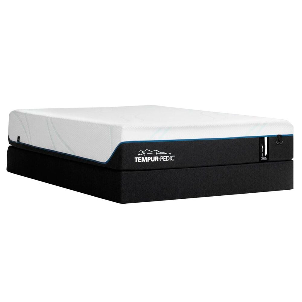 Tempur-Pedic TEMPUR-PROADAPT Soft Queen Mattress with High Profile Box Spring, , large
