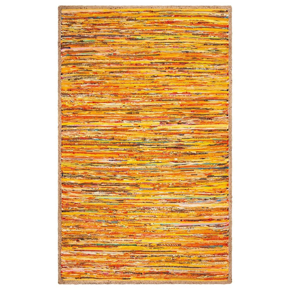 Safavieh Montauk  5' x 8' Gold and Natural Area Rug, , large
