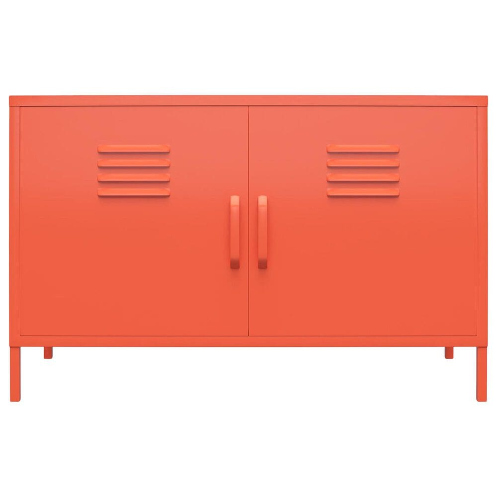 Novogratz Cache 2-Door Accent Cabinet in Orange, , large