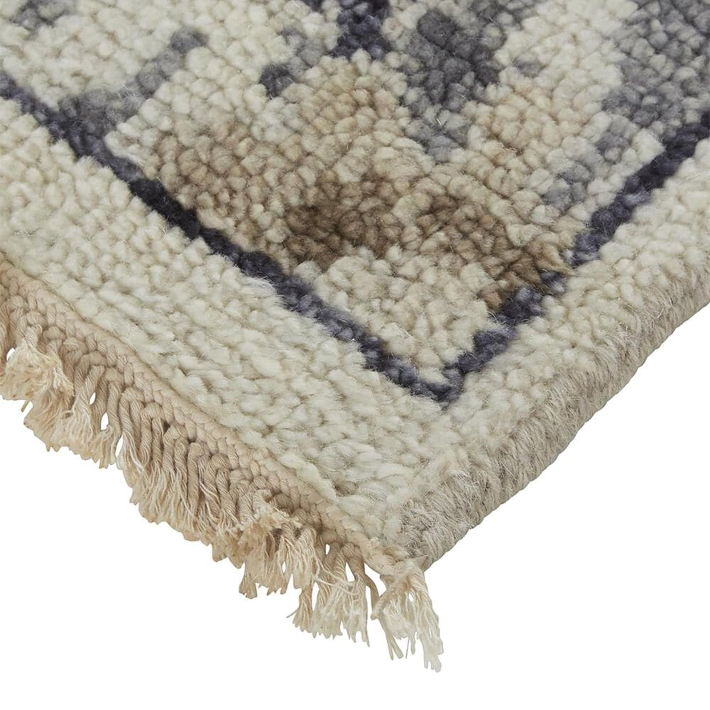 """Feizy Rugs Beall 5'6"""" x 8'6"""" Gray and Brown Area Rug, , large"""