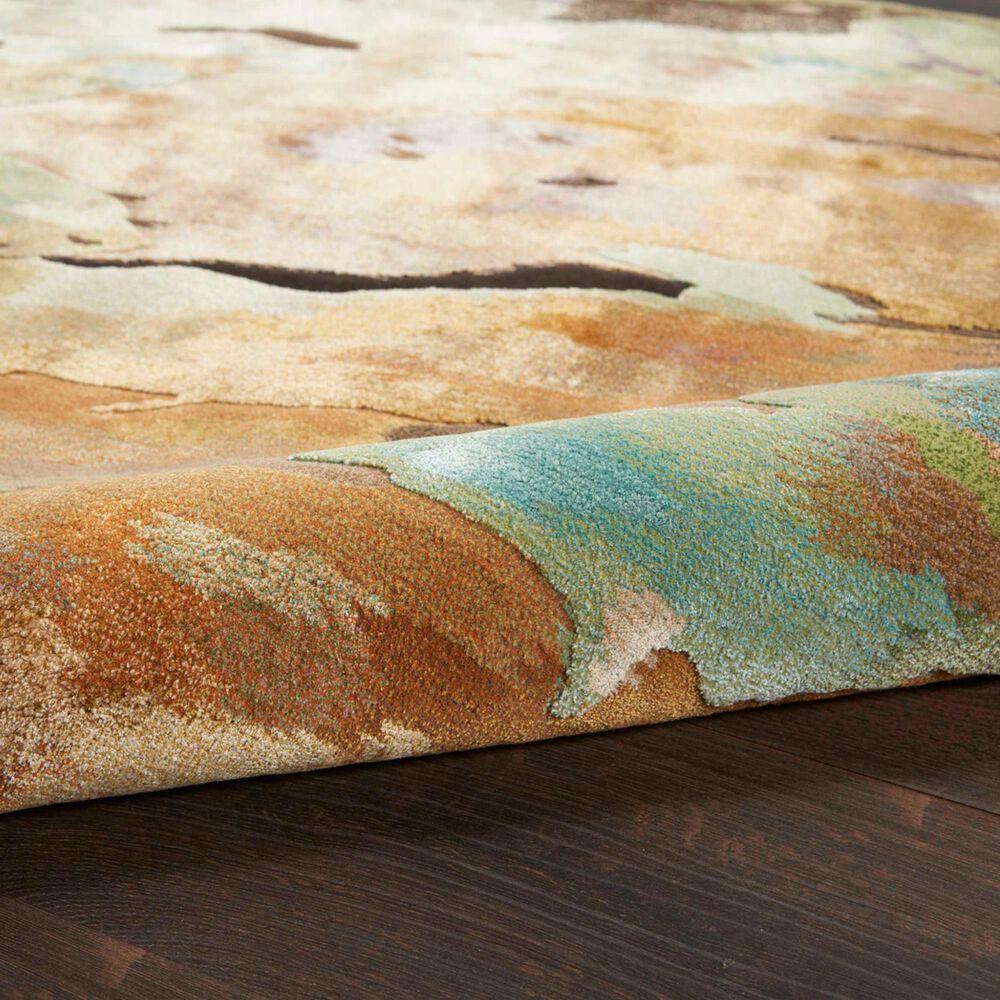 """Nourison Prismatic PRS09 8'6"""" x 11'6"""" Multicolor Area Rug, , large"""