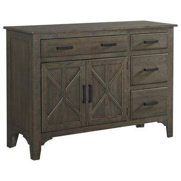 Hawthorne Furniture Sullivan 4-Drawer Server in Burnished Clay, , large