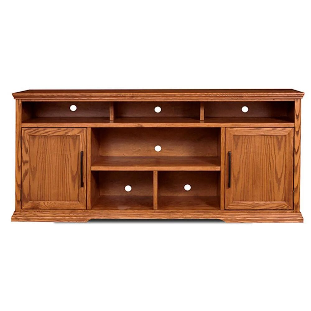 "Endress International Colonial Place 74"" Console in Golden Oak, , large"