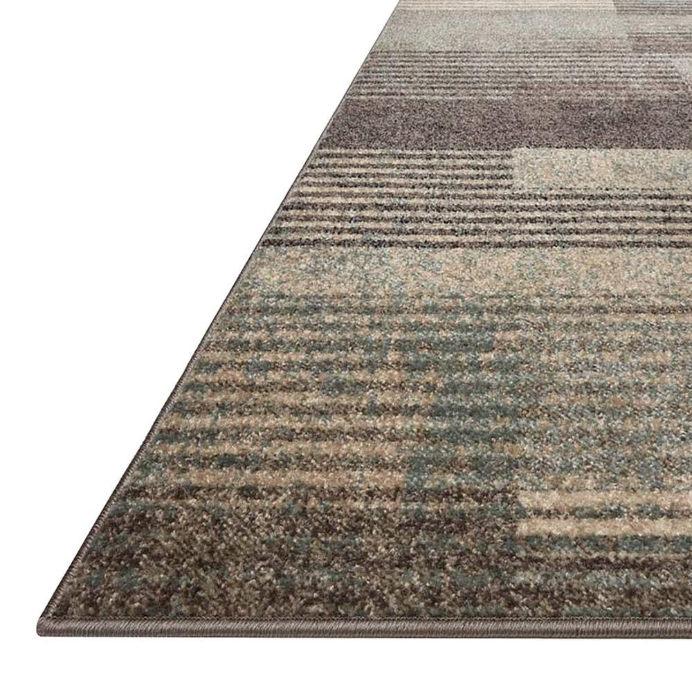 """Loloi II Bowery 7'10"""" x 10' Storm and Taupe Area Rug, , large"""