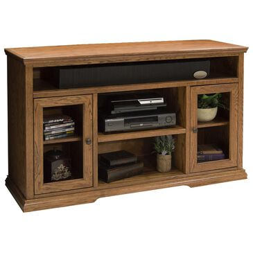 """Endress International Colonial Place 54"""" Tall TV Cart in Golden Oak, , large"""