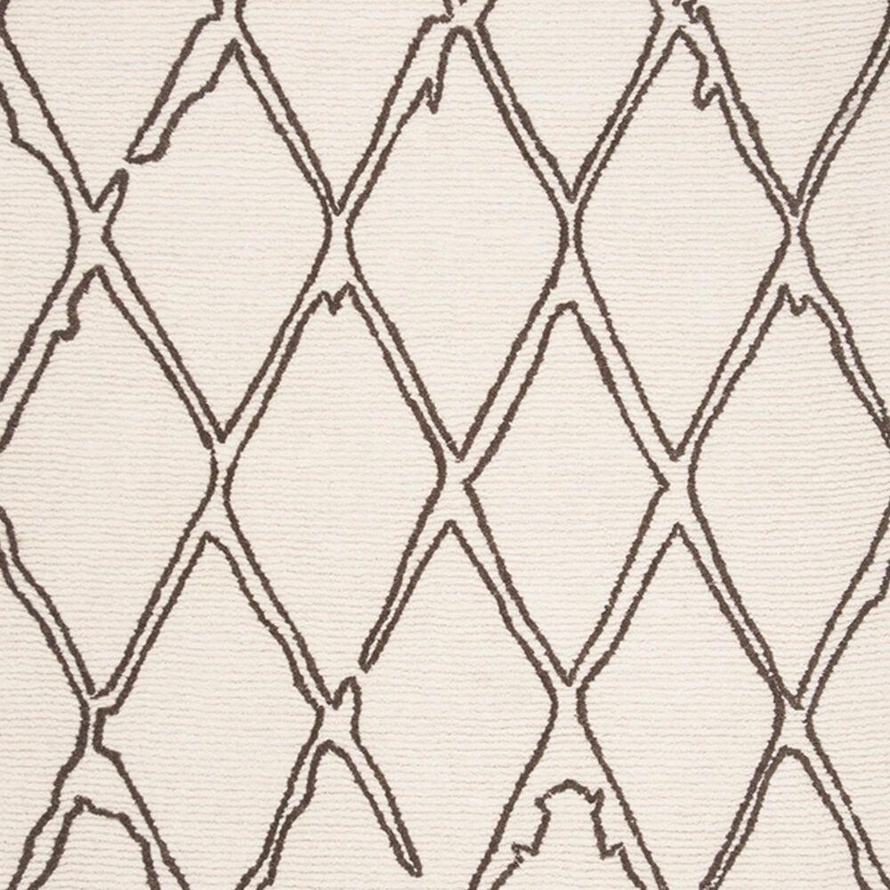 Safavieh Casablanca CSB350F 4' x 6' Ivory and Grey Area Rug, , large
