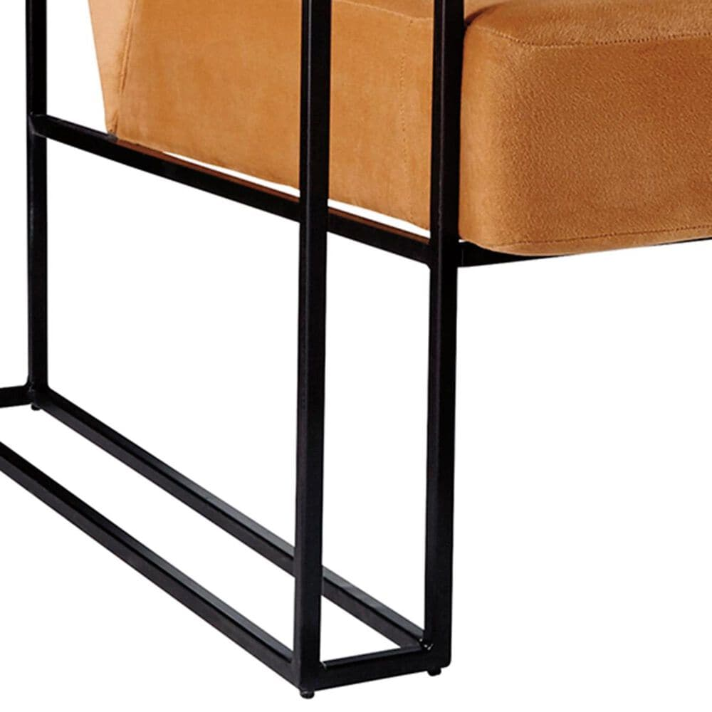 37B Kleemore Accent Chair in Amber Velvet, , large