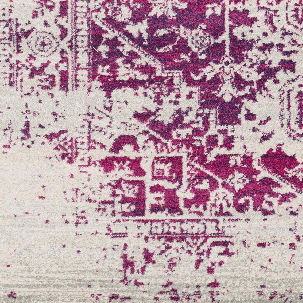 "Surya Harput HAP-1020 7'10"" x 10'3"" Garnet, Gray and Blue Area Rug, , large"