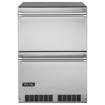 "Viking Range 24"" Refrigerated Drawers in Stainless Steel, , large"