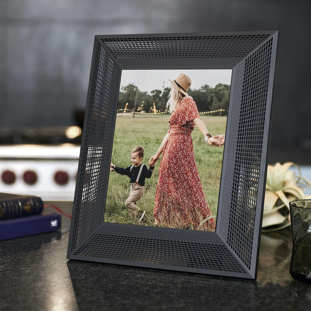 Aura Smith Digital Picture Frame in Black Onyx, , large