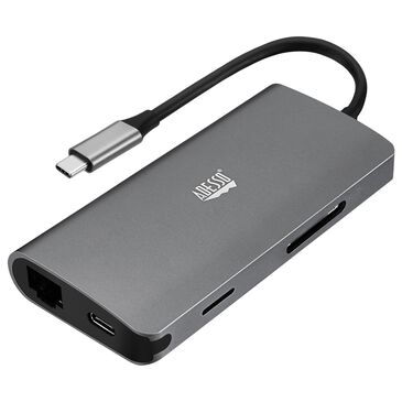 Adesso 8-in-1 USB-C Multiport Docking Station, , large