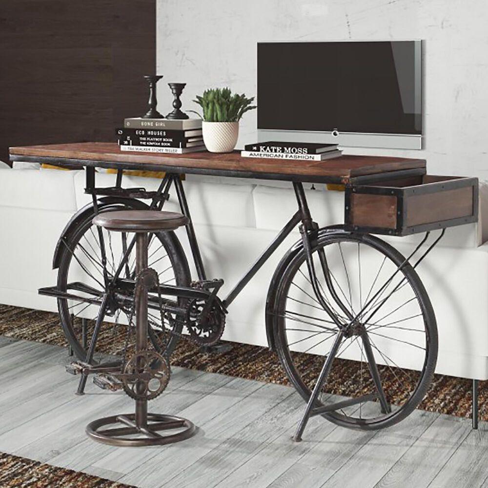 Jaipur Home Retro Bicycle Bar Table, , large