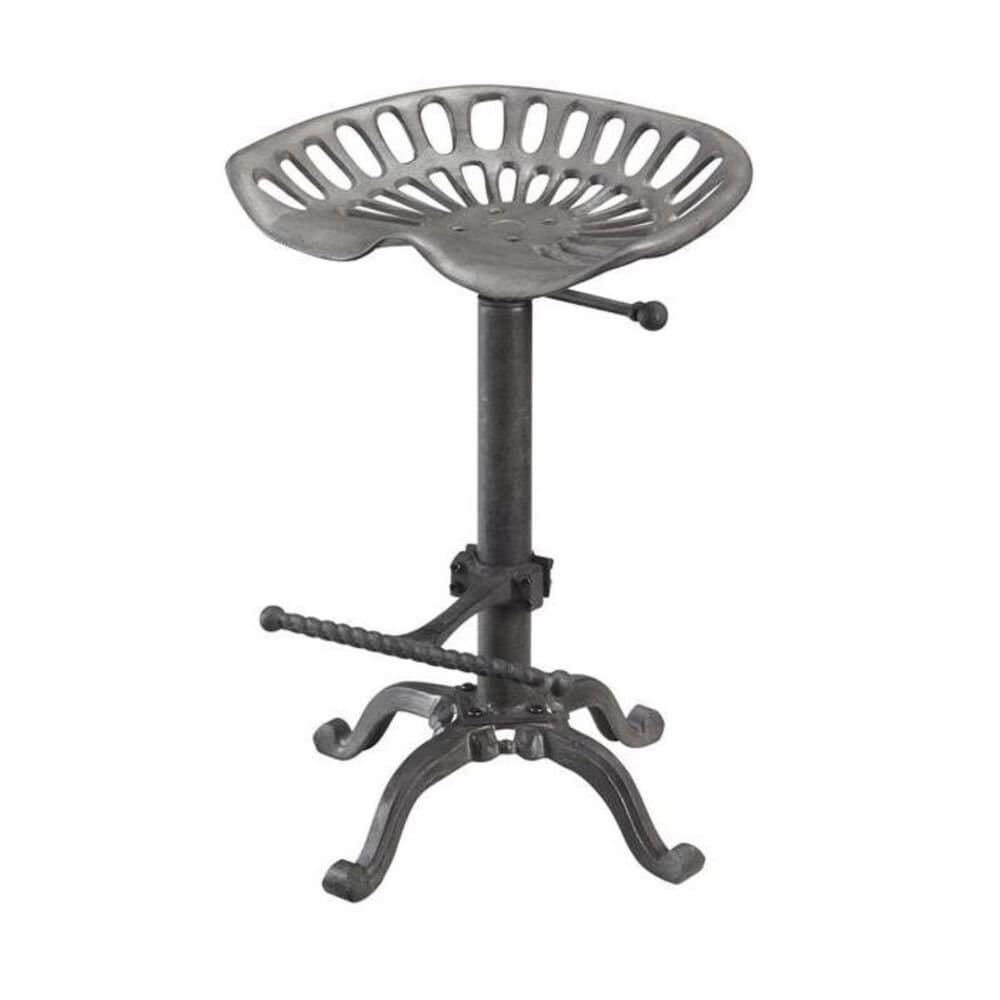 Carolina Cottage Adjustable Tractor Seat Stool in Industrial, , large