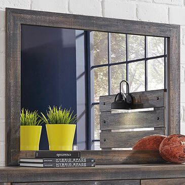 Signature Design by Ashley Drystan Youth Mirror in Brown Rustic, , large