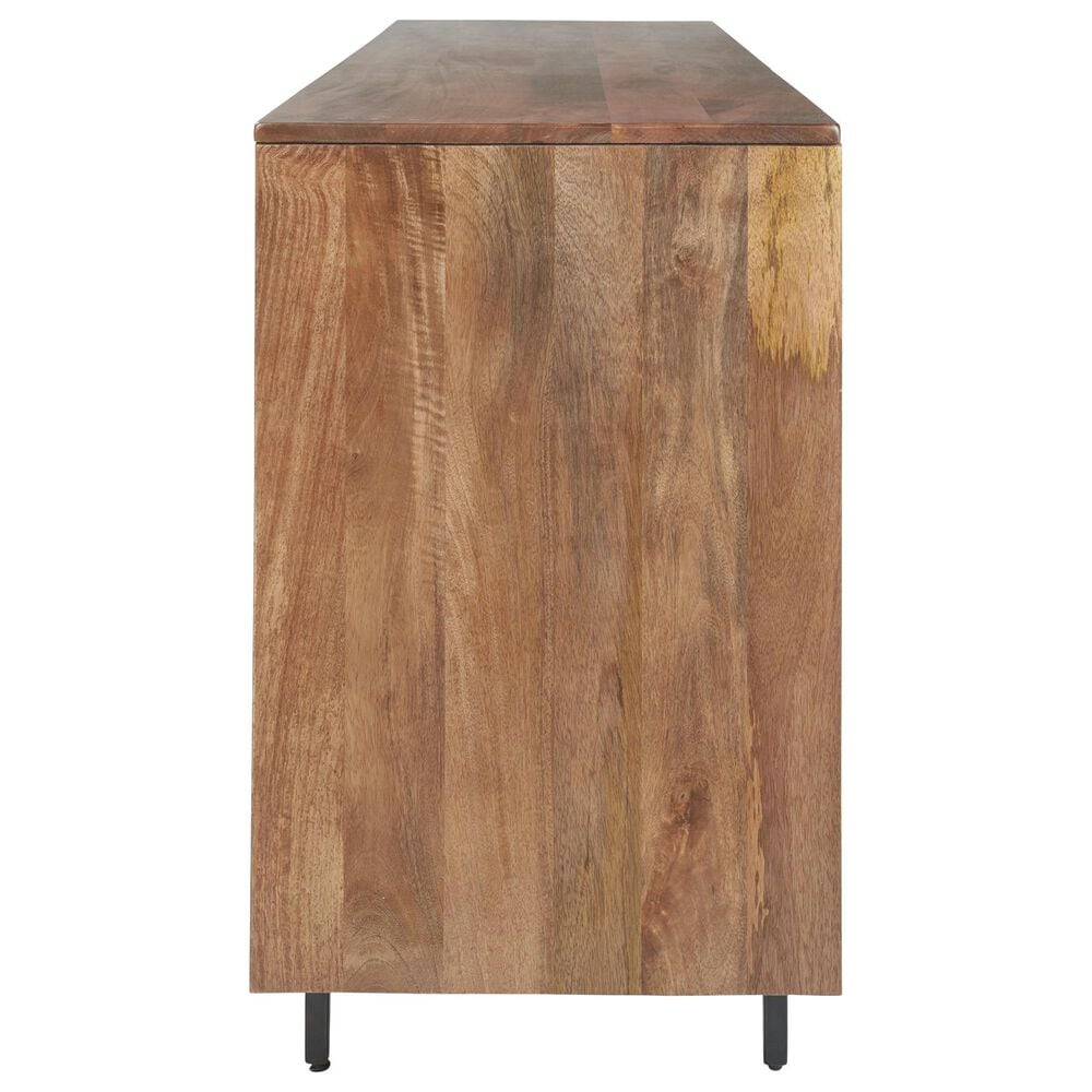 Signature Design by Ashley Kerrings Accent Cabinet in Natural, Black and Ivory, , large