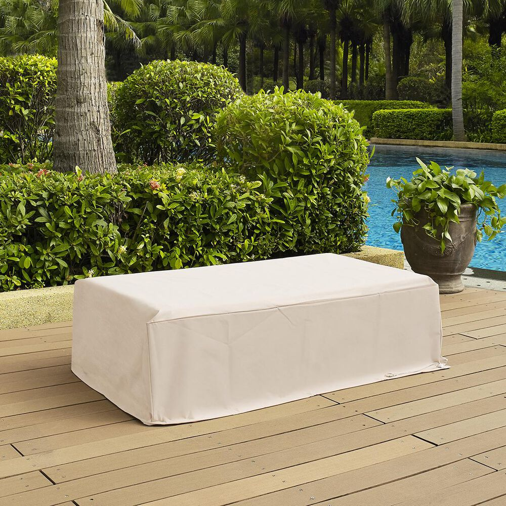 Crosley Furniture Outdoor Rectangular Table Cover, , large