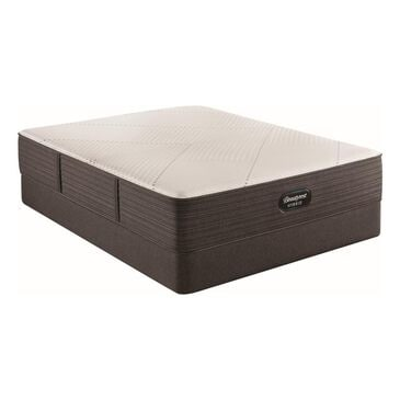 Simmons Beautyrest Hybrid1000-IP Plush Queen Mattress with High Profile Box Spring, , large